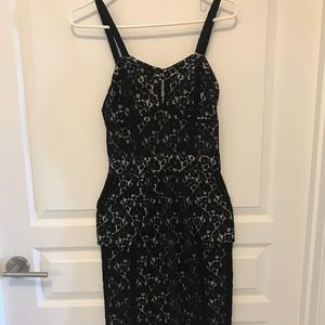 Black Lace EXPRESS Dress